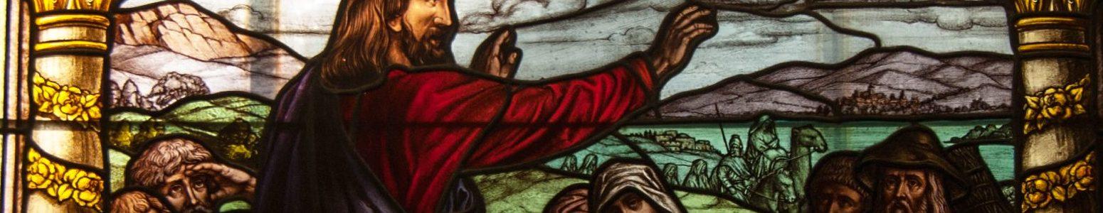 Fenster der Stl. Laurentius Kirche Auerbach